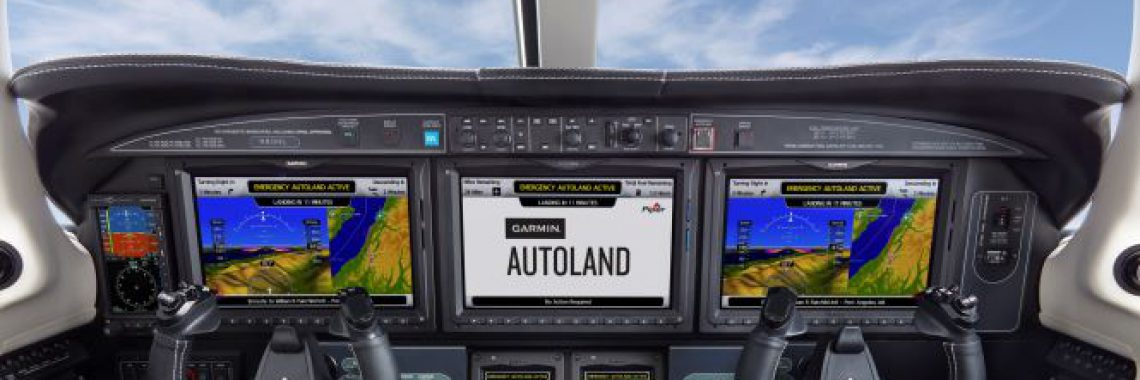 GARMIN DIRECTOR OF FLIGHT OPERATIONS AWARDED FLIGHT TEST  PILOT HONOR FOR CERTIFICATION OF AUTOLAND